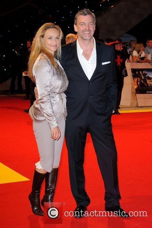 Elisabetta Cariacca and Ray Stevenson The World Premiere...