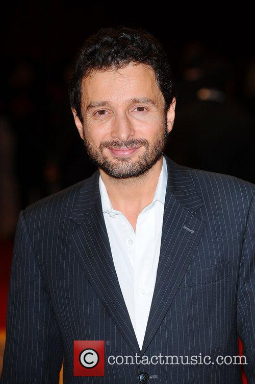 Alex Litvak at the premiere of The Three...