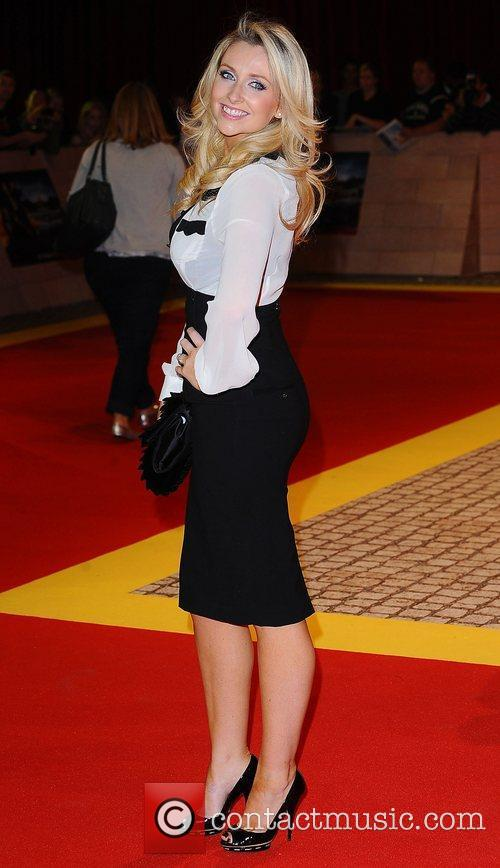 Gemma Merna at the premiere of The Three...