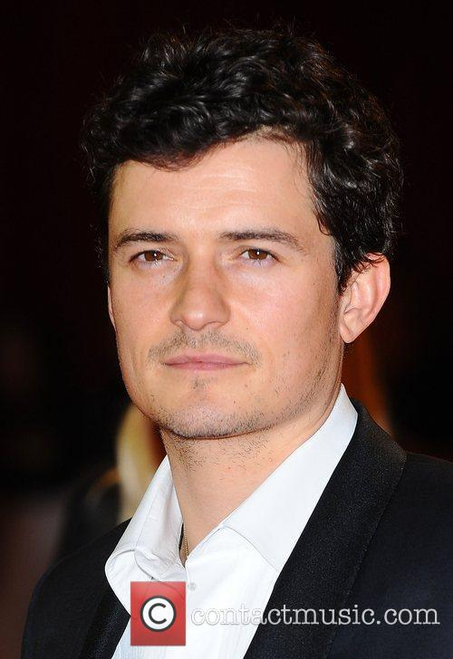 Orlando Bloom at the premiere of The Three...