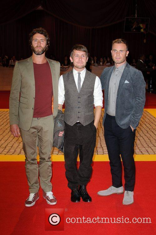 Howard Donald, Mark Owen, Gary Barlow 'The Three...