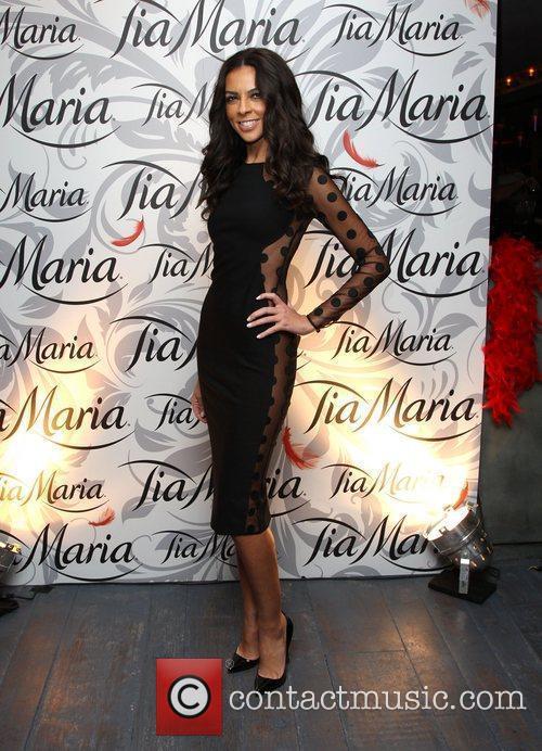Terri Seymour Tia Maria Masquerade Ball held at...