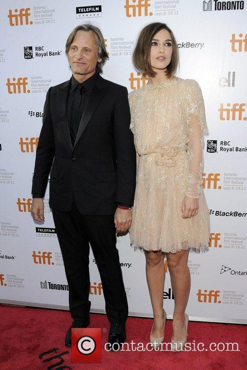 Viggo Mortensen and Keira Knightley  36th Annual...