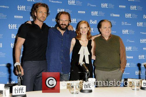 Gerard Butler, Ralph Fiennes, Jessica Chastain and Brian...