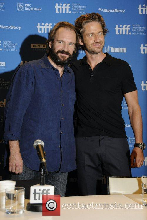 Ralph Fiennes and Gerard Butler  36th Annual...