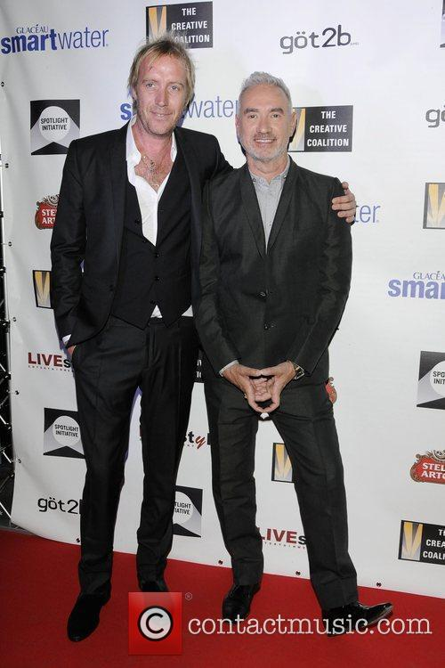 Rhys Ifans and Roland Emmerich 3