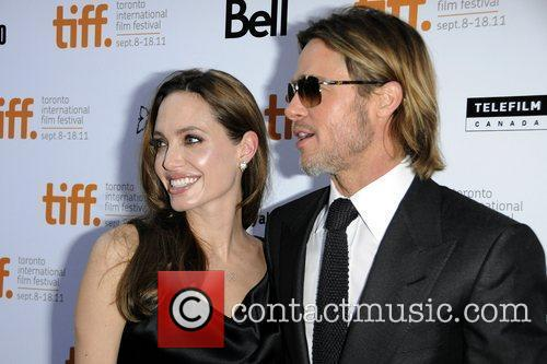 Angelina Jolie And Brad Pitt House Hunting In London