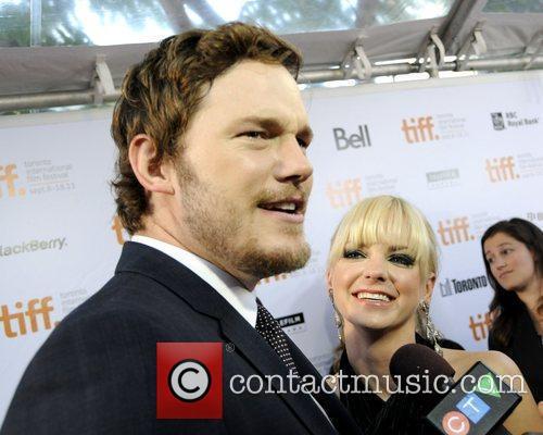 Chris Pratt and Anna Faris 2