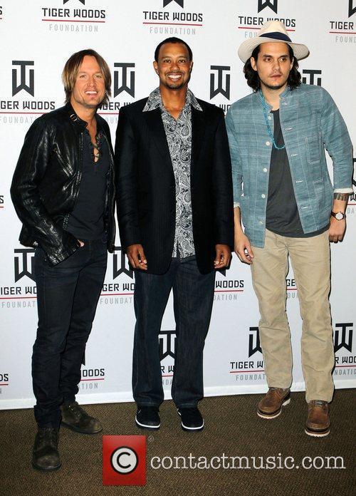 KEITH URBAN, John Mayer and Tiger Woods 1