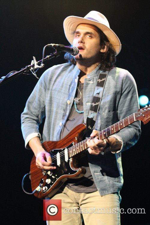 John Mayer performing in Las Vegas