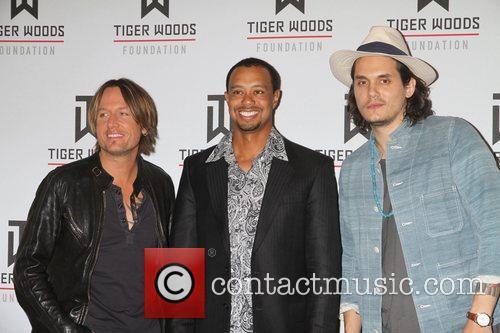 KEITH URBAN, John Mayer, Tiger Woods
