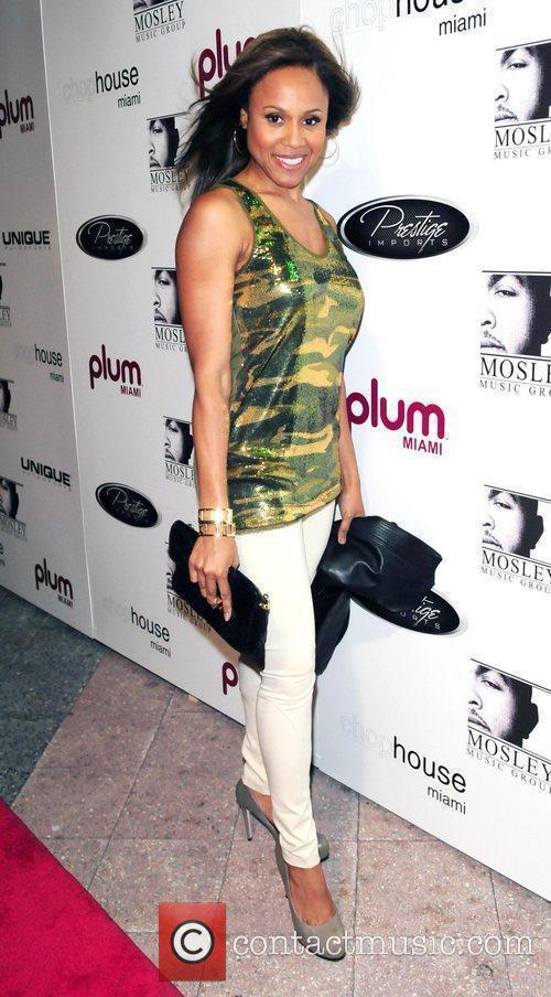 Deborah Cox Plum TV Miami hosts Timbaland's birthday...