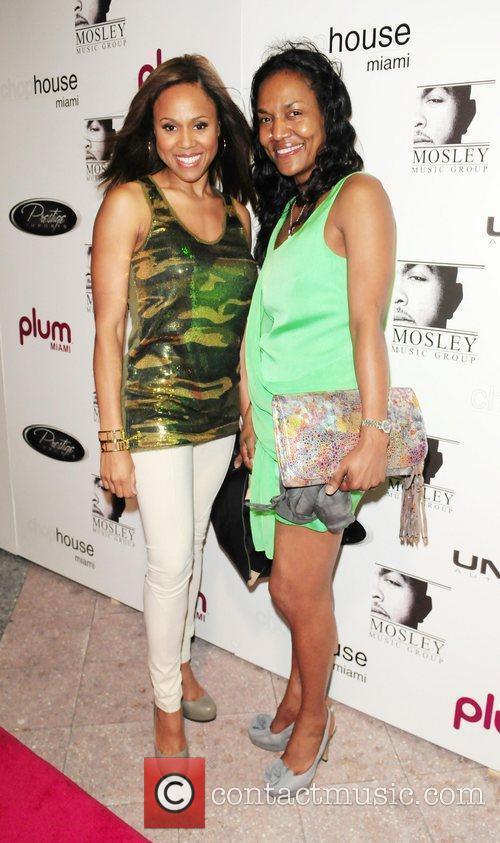 Deborah Cox and Gloria James Plum TV Miami...