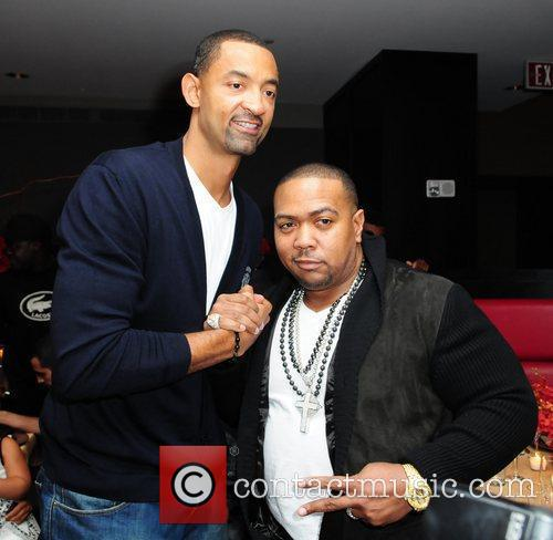 Juwan Howard and Timbaland 2