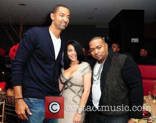 Juwan Howard and Timbaland 1