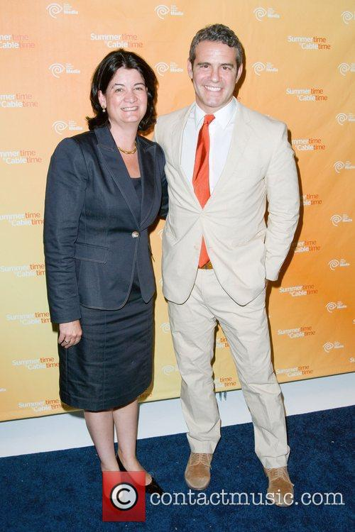 Joan Gillman and Andy Cohen 2011 Time Warner...