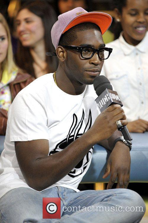 Tinie Tempah appears on MuchMusic's New.Music.Live. Toronto, Canada