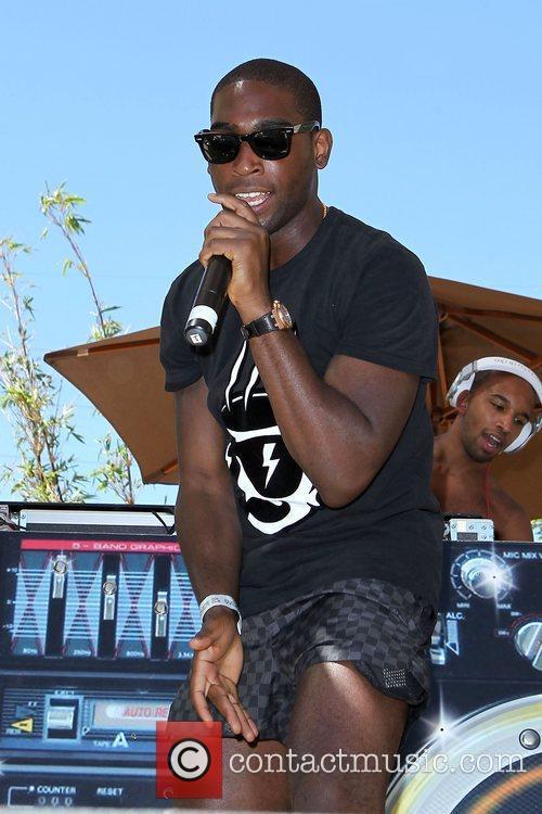 Tinie Tempah Tinie Tempah performs at Ditch Fridays...
