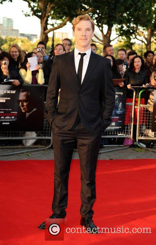 Benedict Cumberbatch The London Premiere of 'Tinker, Tailor,...