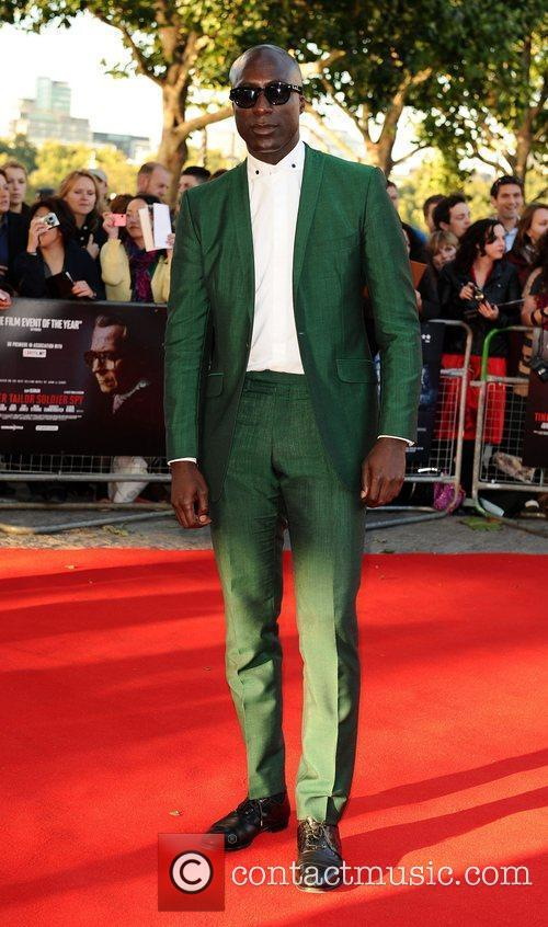Oswald Boateng The London Premiere of 'Tinker, Tailor,...