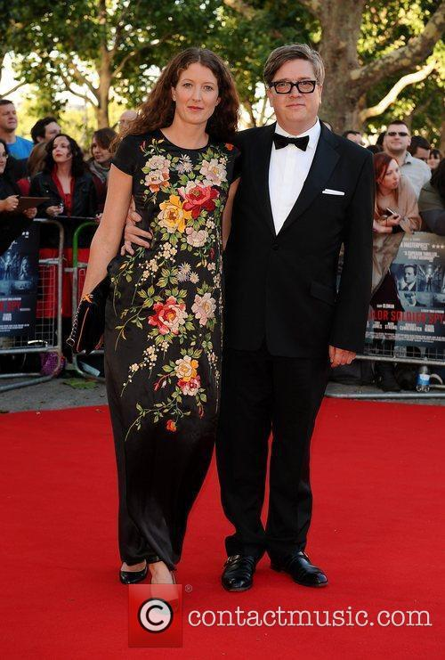 Thomas Alfredson and guest The London Premiere of...