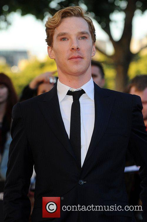 Benedict Cumberbatch,  at the premiere of 'Tinker,...