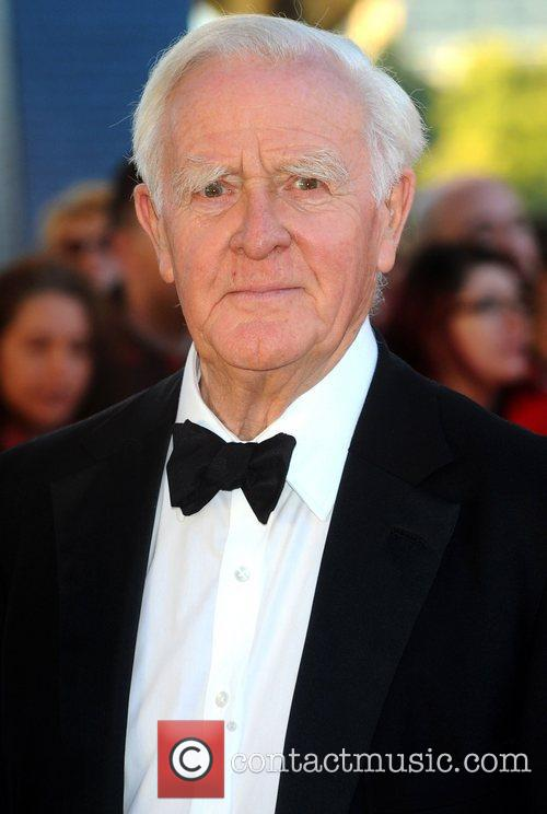 John le Carre at the premiere of 'Tinker,...