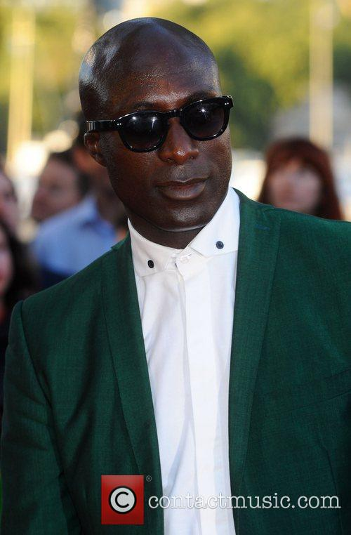 Ozwald Boateng,  at the premiere of 'Tinker,...