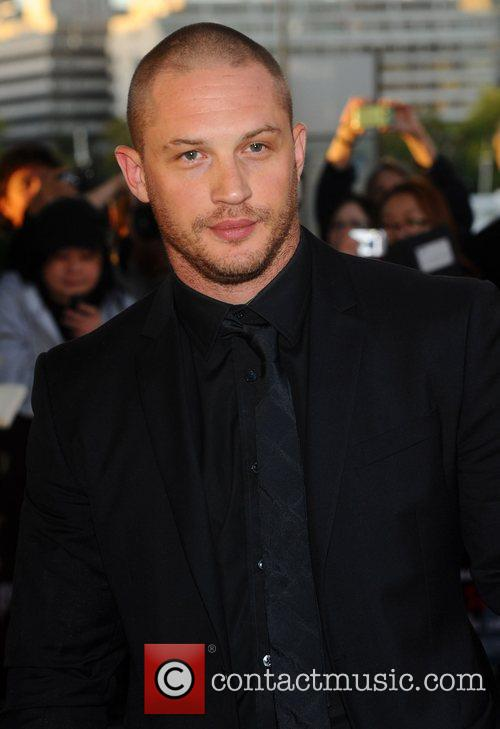 Tom Hardy ,  at the premiere of...