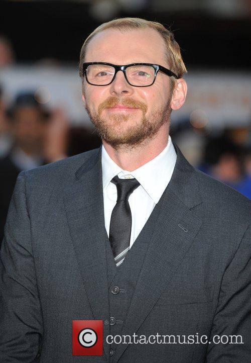 Simon Pegg and Odeon West End 3