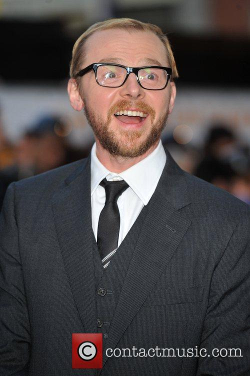 Simon Pegg and Odeon West End 2