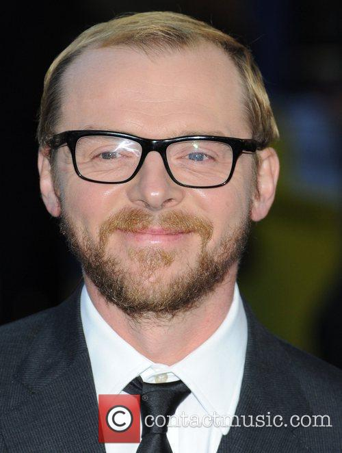 Simon Pegg and Odeon West End 4