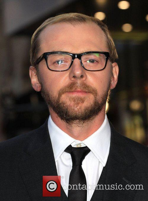 Simon Pegg and Odeon West End 5