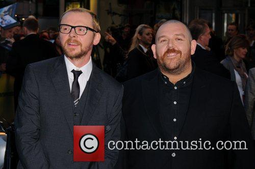 Simon Pegg, Nick Frost and Odeon West End 5