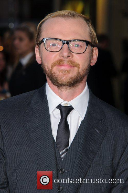 Simon Pegg and Odeon West End 7