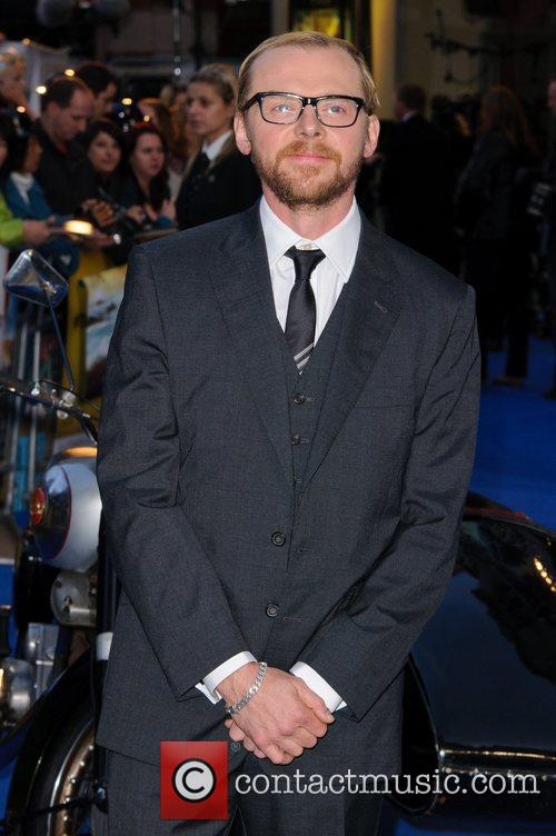 Simon Pegg and Odeon West End 1