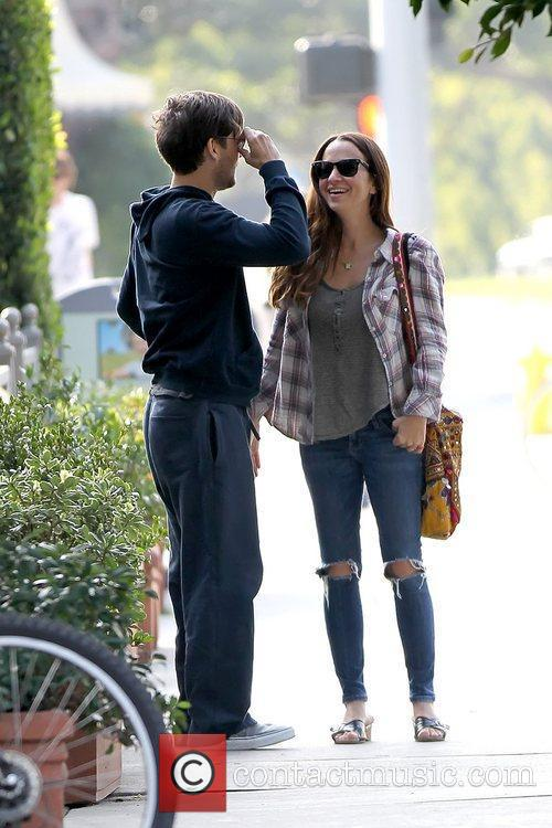 Tobey Maguire and JENNIFER MEYER 14