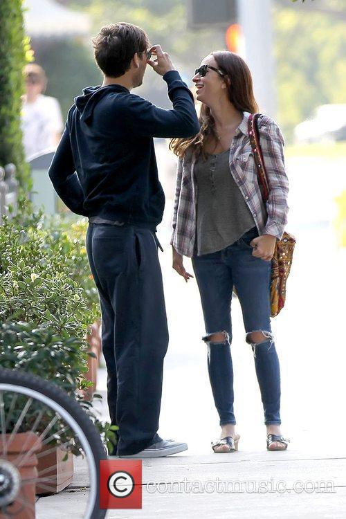 Tobey Maguire and JENNIFER MEYER 13