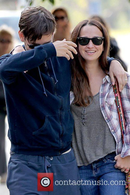 Tobey Maguire and JENNIFER MEYER 17