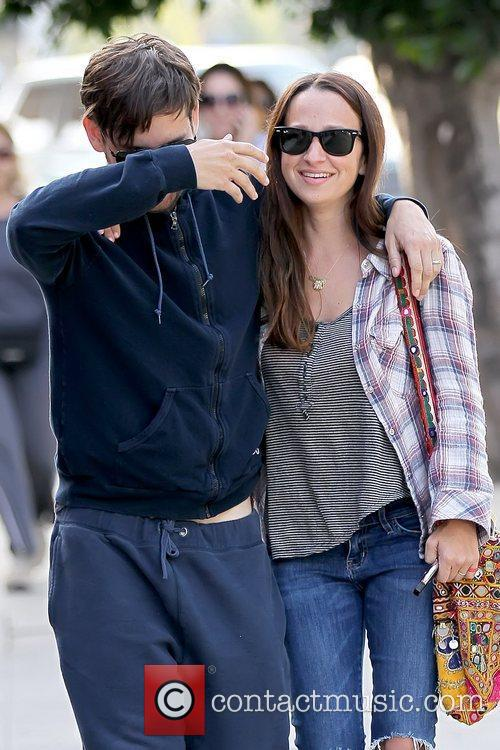 Tobey Maguire and JENNIFER MEYER 11