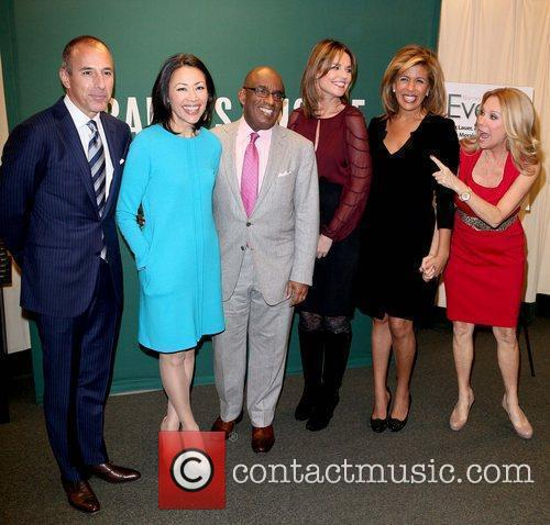 Matt Lauer, Al Roker, Ann Curry, Hoda Kotb and Kathie Lee Gifford 11
