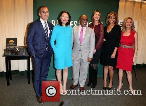 Matt Lauer, Al Roker, Ann Curry, Hoda Kotb and Kathie Lee Gifford 12