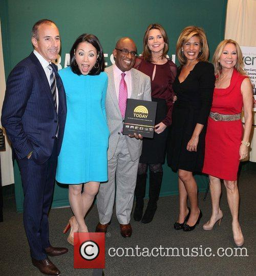 Matt Lauer, Al Roker, Ann Curry, Hoda Kotb and Kathie Lee Gifford 1