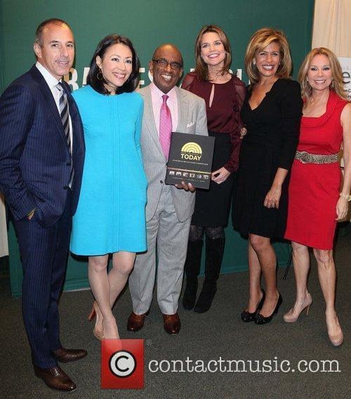 Matt Lauer, Al Roker, Ann Curry, Hoda Kotb and Kathie Lee Gifford 5