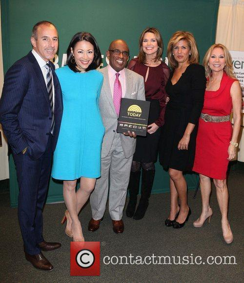 Matt Lauer, Al Roker, Ann Curry, Hoda Kotb and Kathie Lee Gifford 10