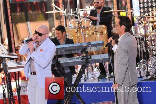 Marc Anthony and Pitbull 8