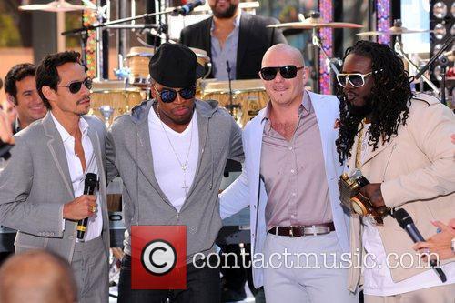 Marc Anthony, Ne-Yo, Pitbull, T-Pain