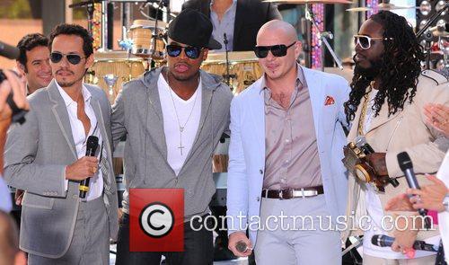 Marc Anthony, Ne-Yo, Pitbull and T-Pain 3