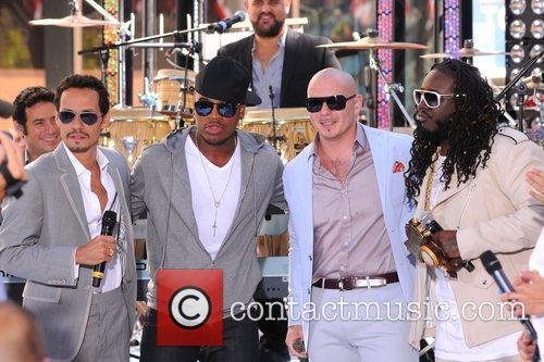 Marc Anthony, Ne-Yo, Pitbull and T-Pain 2