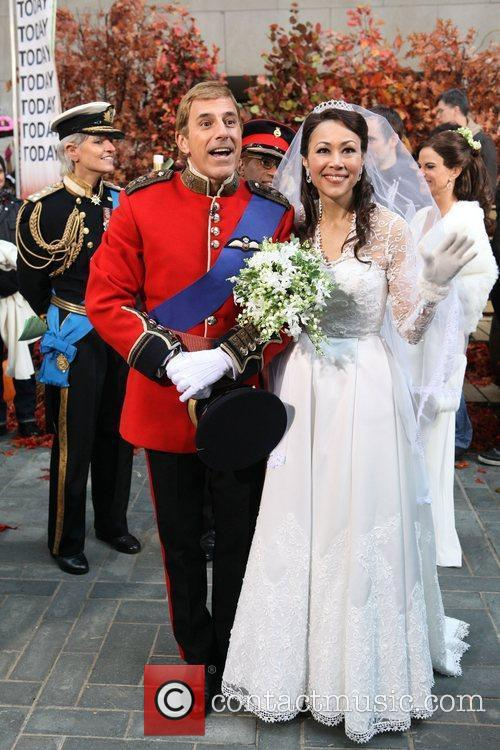 Matt Lauer, Ann Curry, Kate Middleton and Prince William 10